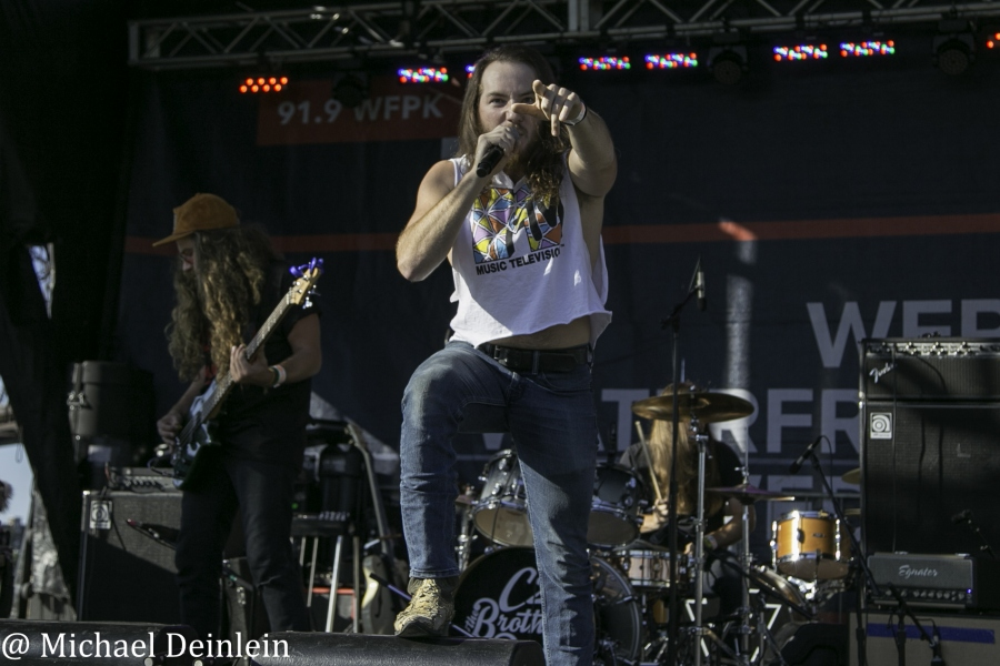 C2 & The Brothers Reed @ Waterfront Wednesday in Louisville, KY   Photo by Michael Deinlein