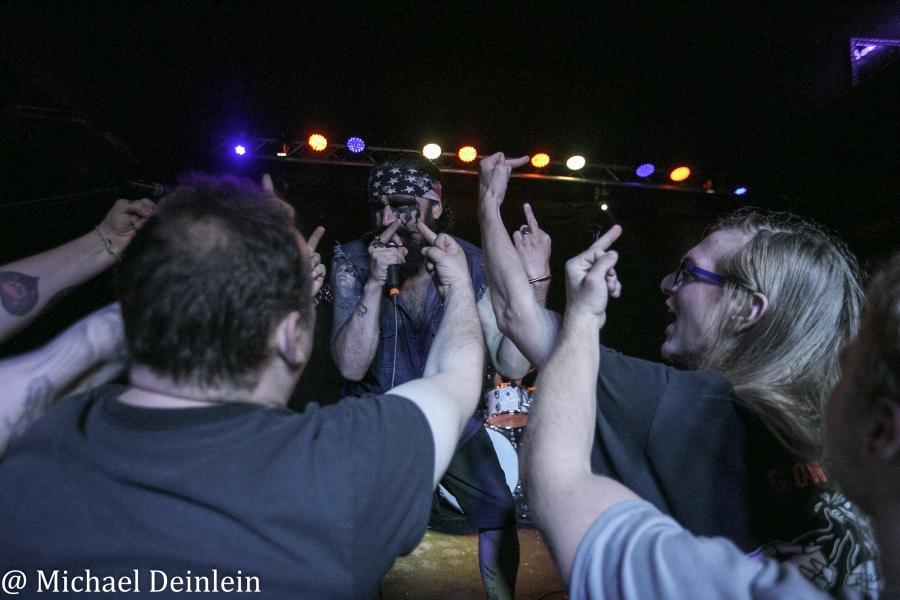 Hank Von Hell @ The Tiger Room in Louisville, KY | Photo by Michael Deinlein