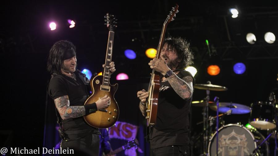 L.A. Guns @ Bourbon Hall in Louisville, KY   Photo by Michael Deinlein