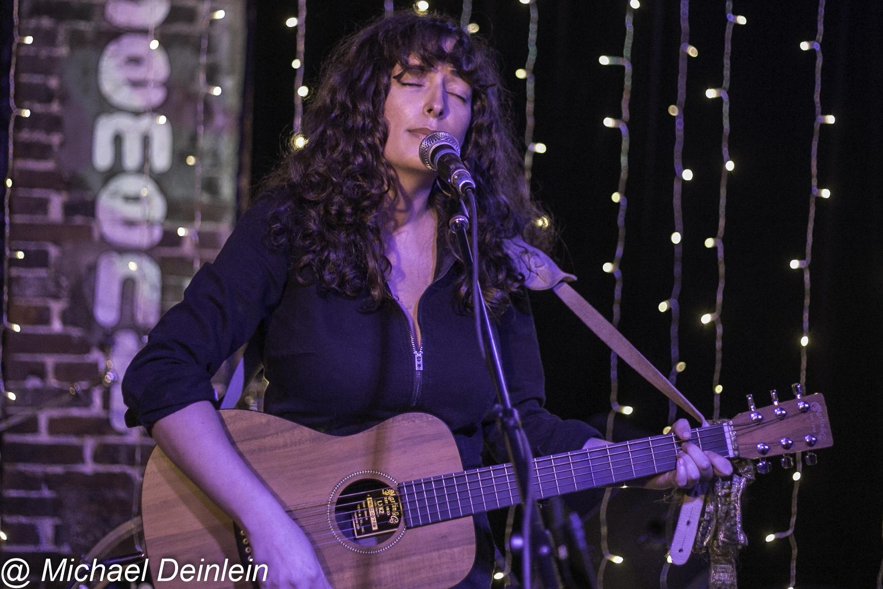 Rosi Golan  @ The Basement in Nashville, TN | Photo by Michael Deinlein