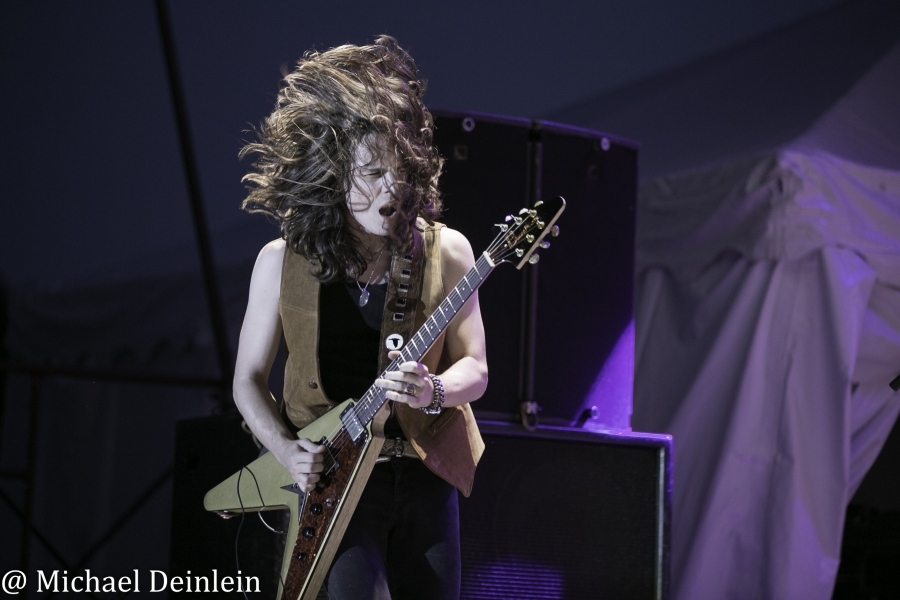 Tyler Bryant and The Shakedown @ The Kentucky State Fair in Louisville, KY | Photo By Michael Deinlein